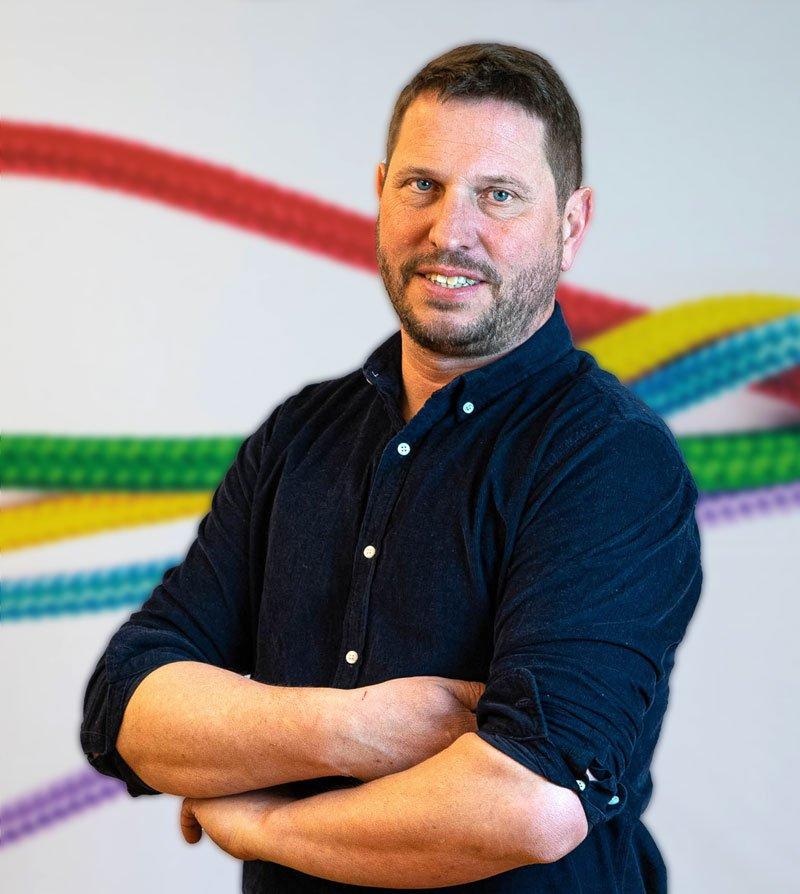 Porträttbild på Fredrik Tågsjö, Verksamhetsutvecklare